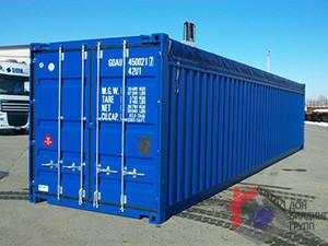 Морской контейнер 40 футов (картинка)